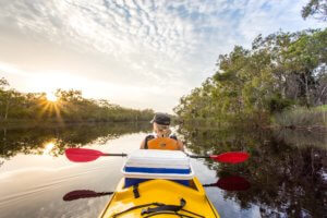 Noosa Everglades Kayaking - Kanu Kapers